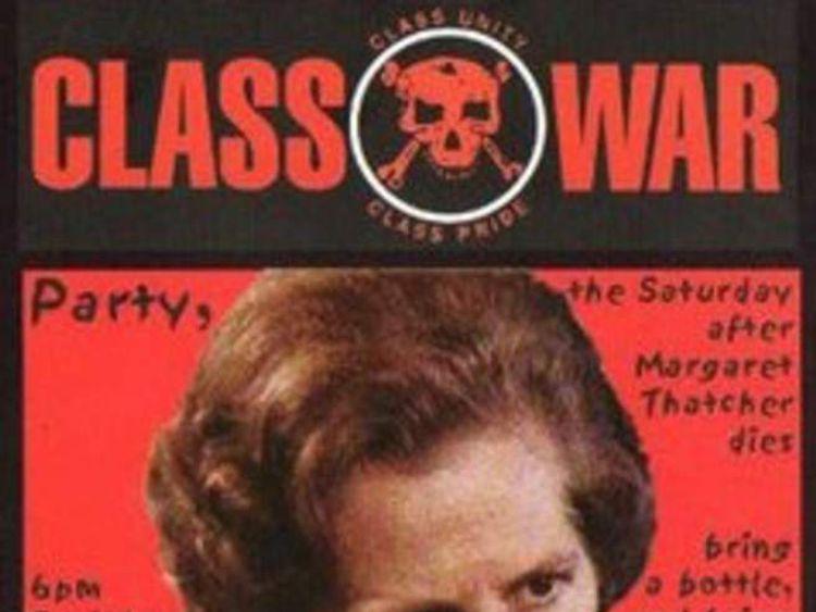 Class War Party poster