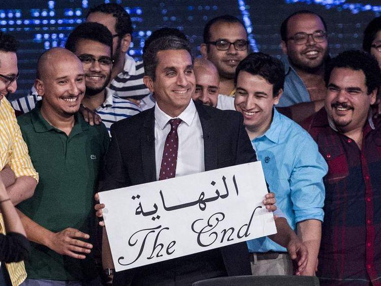 Bassem Yousseff ends show