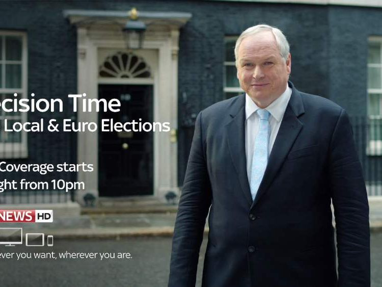 Watch live election coverage on Sky News from 10pm tonight.