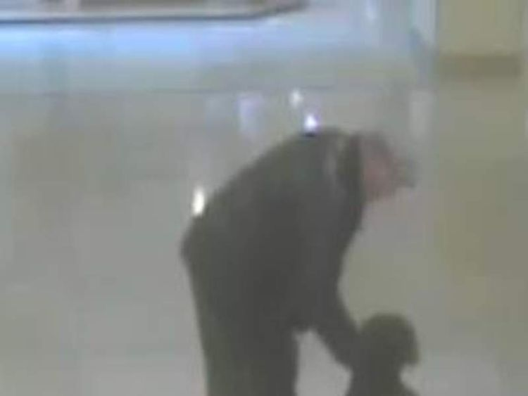 Man tries to snatch toddler in shopping centre