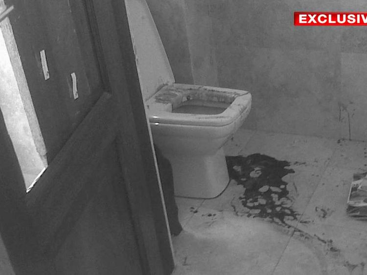 Exclusive: the room where Reeva Steenkamp was fatally shot