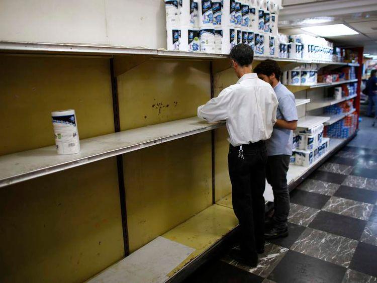 Venezuela toilet roll shortage