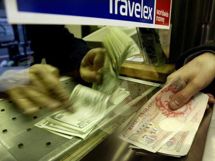 Travelex British Convert Pounds To US Dollars