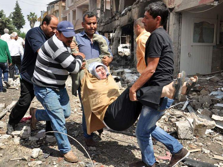Deadly Blasts Near Turkey-Syria Border