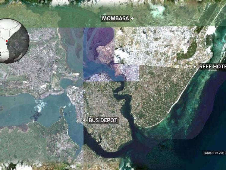 Mombasa bombings
