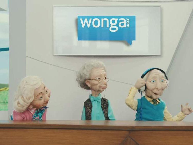 Wonga advert