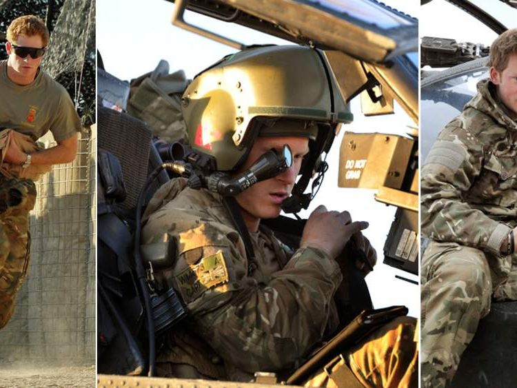 Prince Harry Serving In Afghanistan