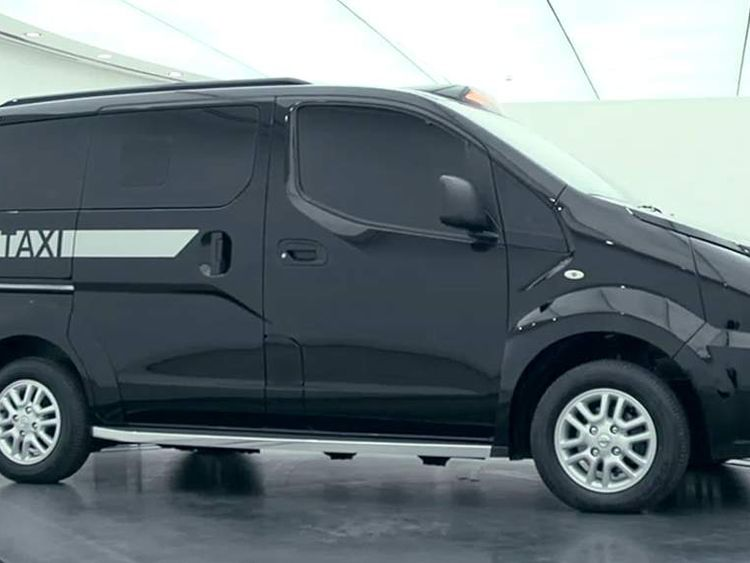 Nissan's new London taxi design