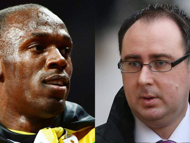 Usain Bolt And Ashley Gill-Webb