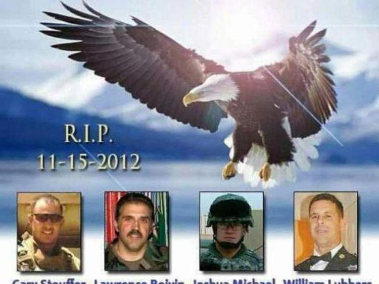 Veterans parade crash tribute