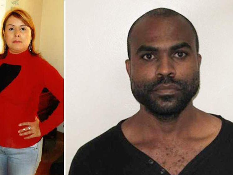 Victim Maria Duque-Tunjano (L) and Robert Richard Fraser (R)