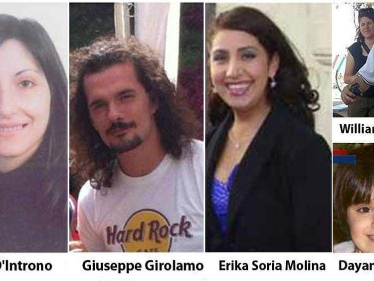 Costa Concordia crash victims