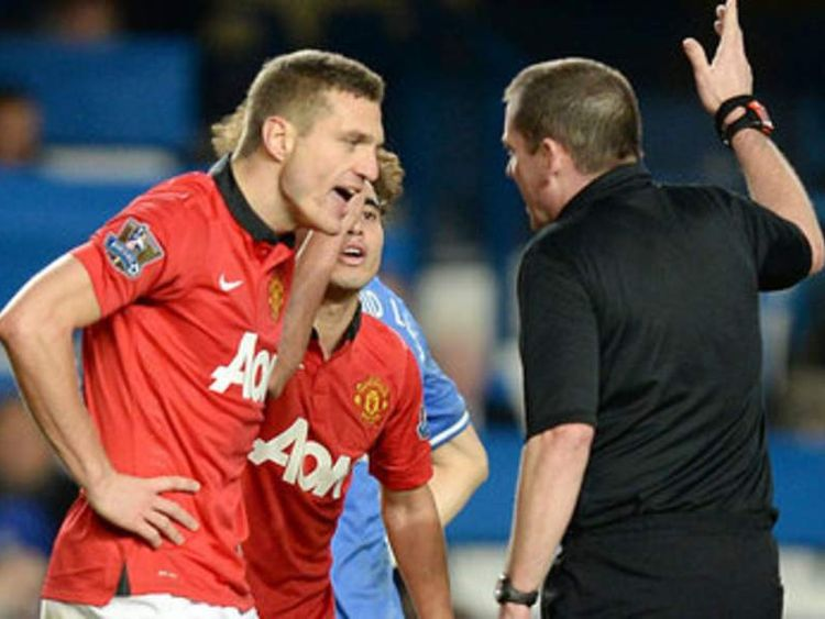 Vidic Red Card Appeal Fails