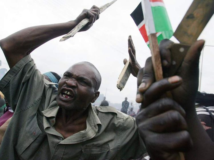 Kenya's president faces charges of orchestrating ethnic killings