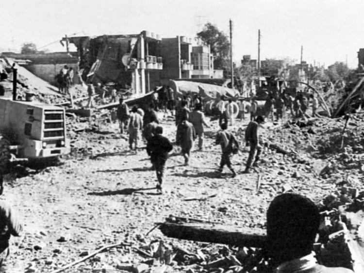 Iran Iraq war - 1984