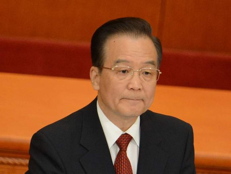 China Wen Jiabao