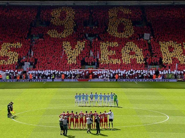 Anfield remembers Hillsborough