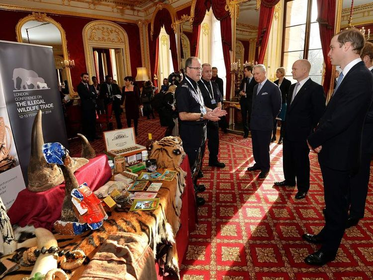 The princes attend the conference
