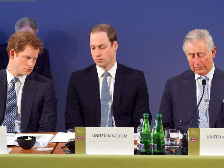 The princes at the conference