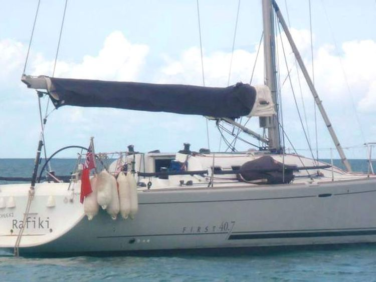 Britons missing as yacht capsizes