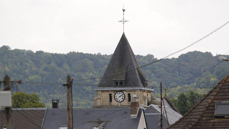 Saint-Etienne-du-Rouvray church