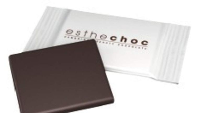 ESTHECHOC, the world's first Beauty Chocolate, will be presented next month at the Global Food Innovation Summit in London