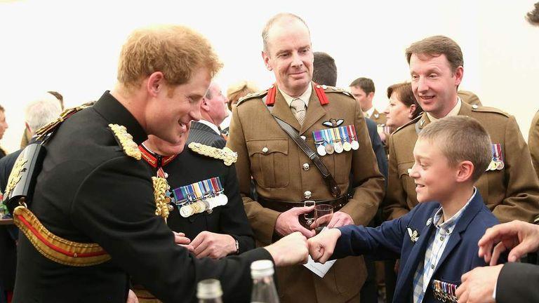 Harry Unveils Afghanistan Memorial