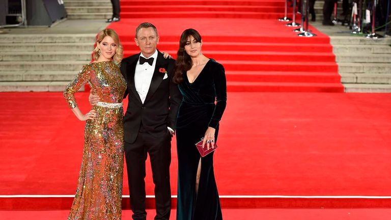 Bond Cast At World Premiere Of Spectre Movie | Ents & Arts