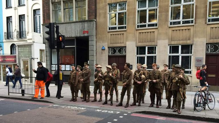 Somme 100th anniversary