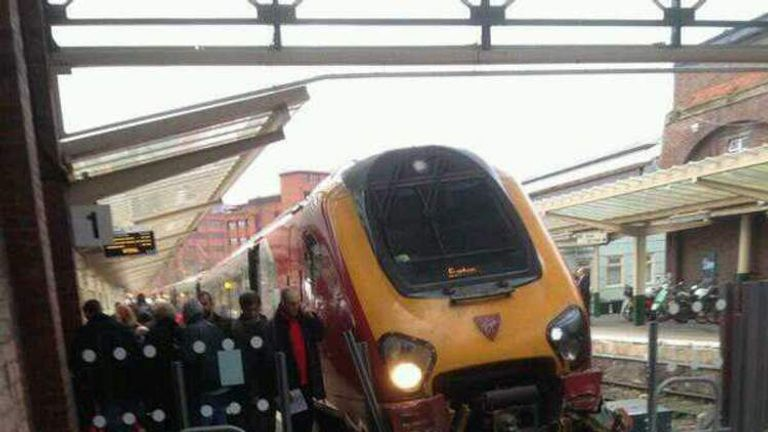 Chester Train Crashes Into Buffers At Station | UK News