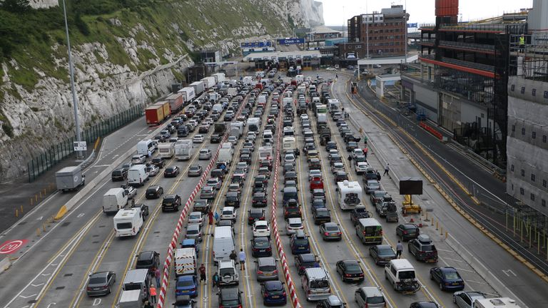 Dover Drivers 'Frustrated, Tired And Angry' | UK News | Sky News