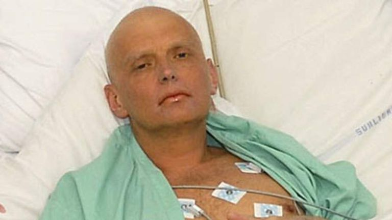 180 Alexander Litvinenko in hospital poisoned