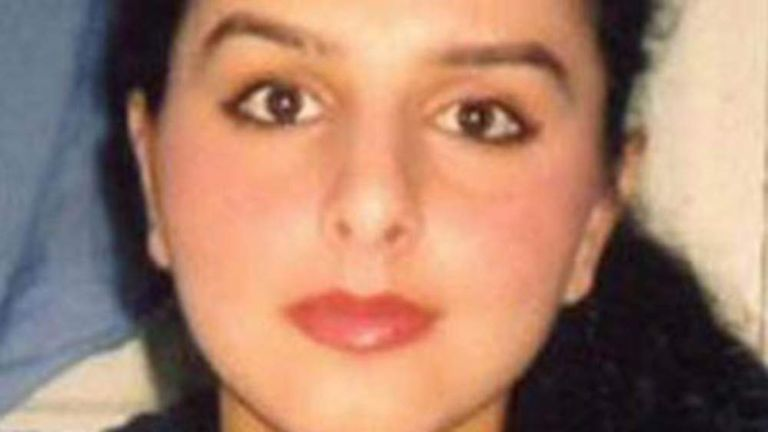 Police Handout Of Banaz Mahmod After Man Charged With Her Murder In January 2006 In An 'Honour Killing'