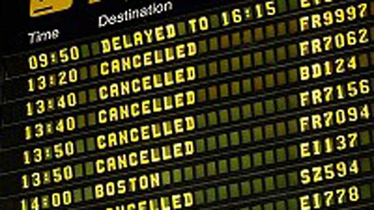 Cancellations board