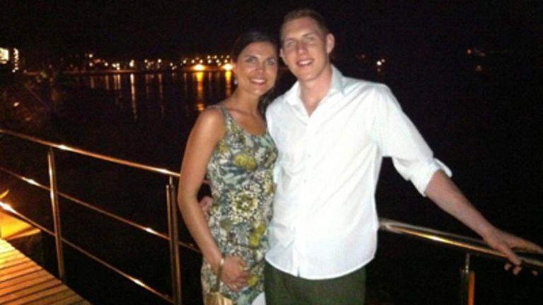 McAreavey Family handout photo of John and Michaela McAreavey on their honeymoon