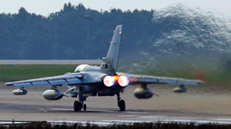 Hundreds Of RAF Staff To Lose Their Jobs | UK News | Sky News