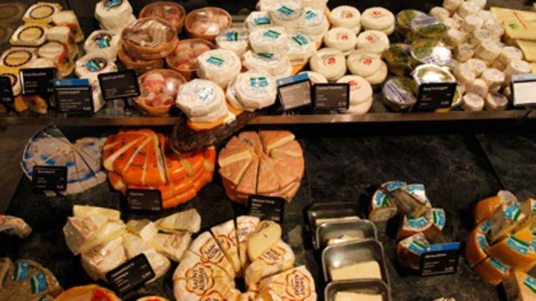 Cheese is one of the most popular food items to steal