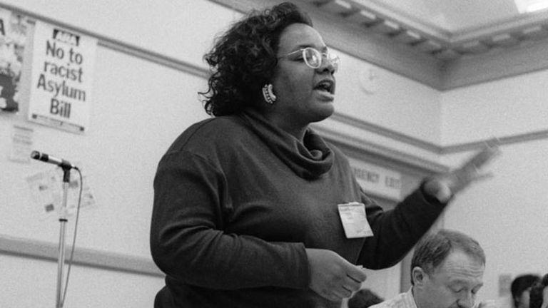 Diane Abbott in 1992