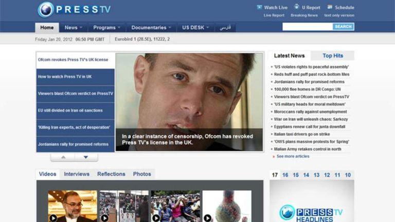 Press TV website