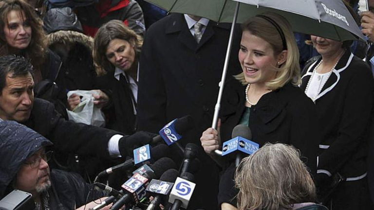 Elizabeth Smart Wedding.Kidnap Victim Elizabeth Smart S Secret Wedding World News Sky News