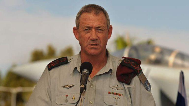 Lieutenant General Benny Gantz