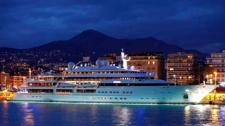 Superyacht in Nice
