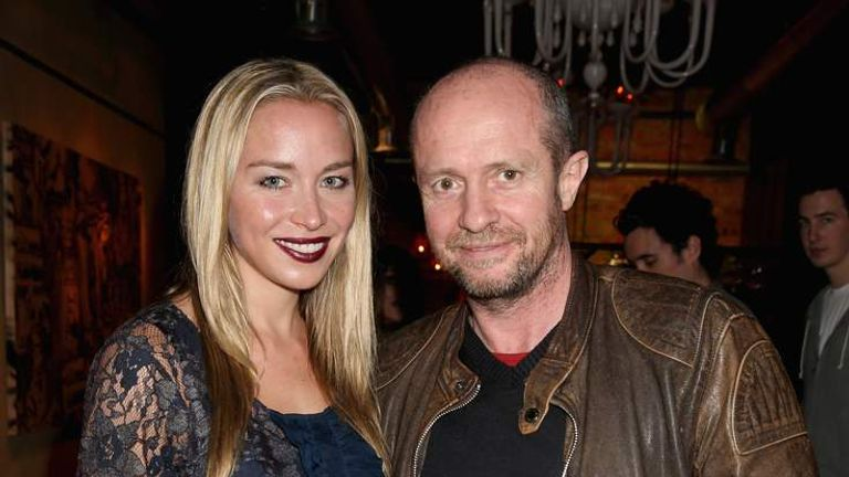Noelle Reno and Scot Young (R)