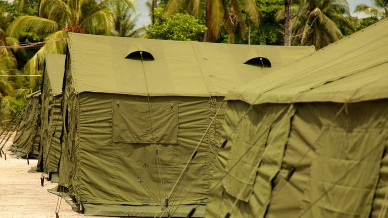 File Picture Of Manus Island Detention Centre