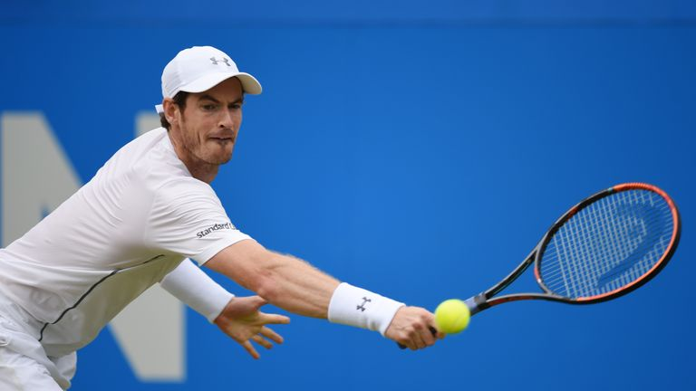 Andy Murray is sponsored by Standard Life