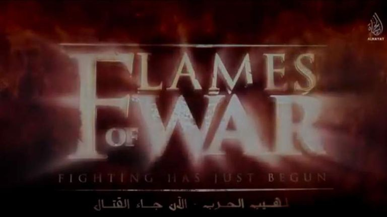 Islamic State propaganda film Flames Of War