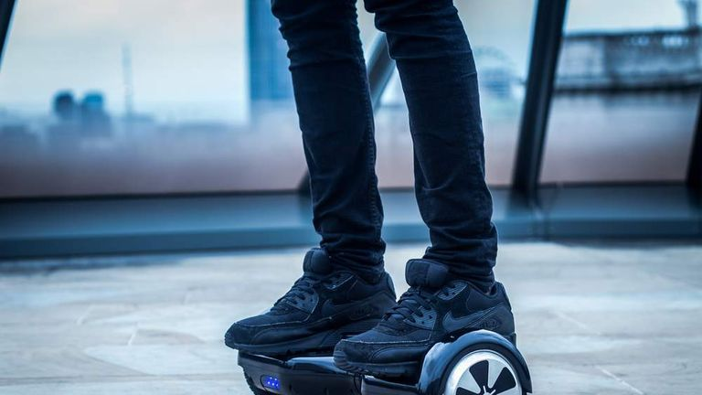 Hoverboard generic. Pic: Ben Larcey