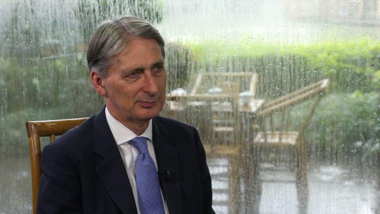 Philip Hammond In China