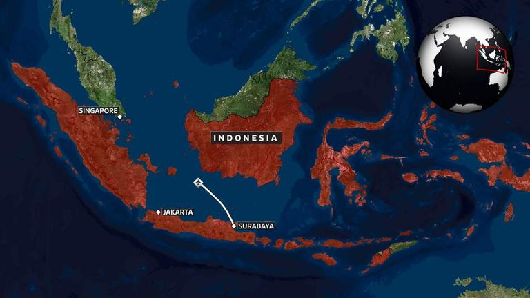 Live Updates: AirAsia Flight QZ8501 Search | World News | Sky News