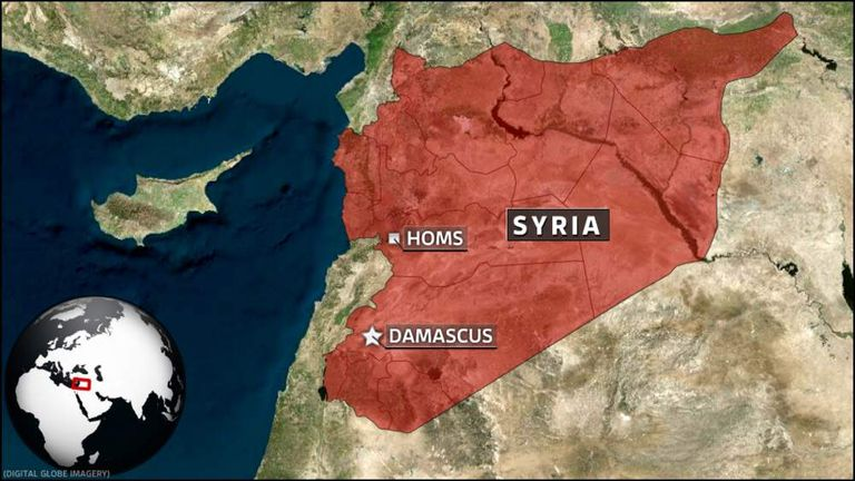 Homs is at a crossroads from Damascus to the south and the Med coast